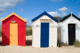 Traditional beach huts at Southwold