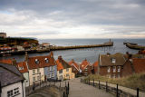 Whitby Harbour from Abbey Steps