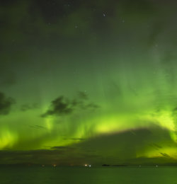 Aurora from Northern tip of Skye