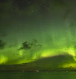 Aurora from Northern tip of Skye
