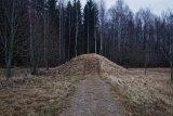 Earth Mound Pagan site Lithuania