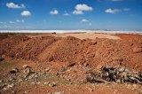 Piles of Earth San Isidoro de Nijar Spain