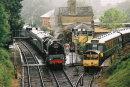 "71000 ""Duke of Gloucester"" at Alresford, Mid-Hants Railway, 30 July 2005"