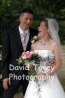 Mark & Lorraine. Married in Kent