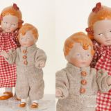 Reproduction Bisque Dolls