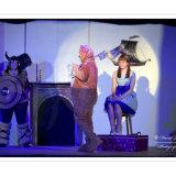 Olaf (Amanda Alderton), Ekimo (Teresa Allen) and Melody (Alice Birchmore).