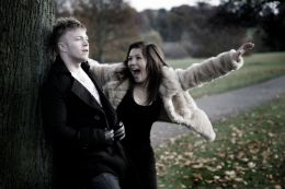 Jade and Rich in the park Maidstone