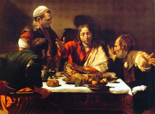 Caravaggio's Supper at Emmaus