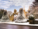 Minster in Snow
