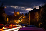 Church Street at dusk