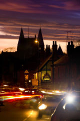 Church Street at dusk-2