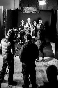 PTT film shoot
