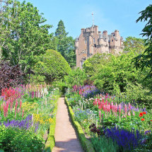 June Border, Crathes Castle Gardens