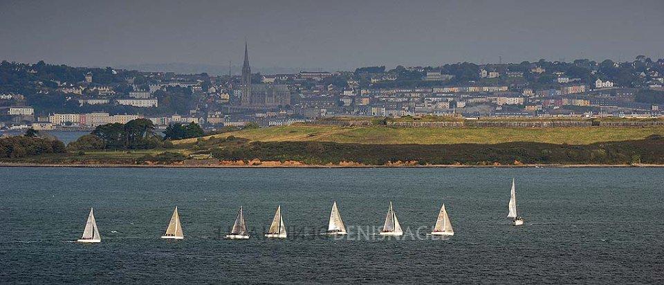 Cork Harbour Sailing , Oct '15