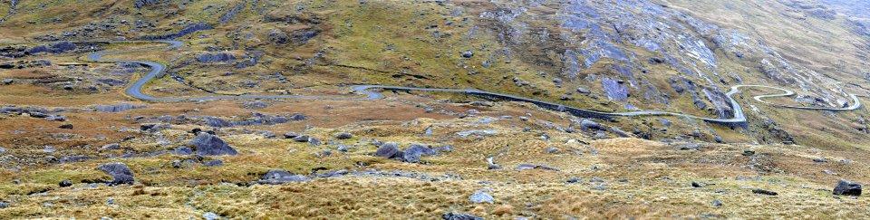 Healy Pass , Beara , Co. Cork , March ' 14 .