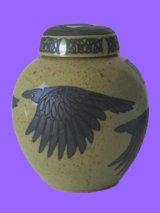 Ginger Jar - Viking Ravens