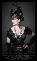 The Raven: Millinery by Pippa Eastman