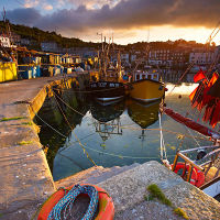 Mevagissey Harbour Quayside