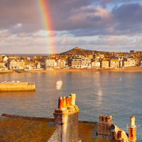St Ives Rainbow Panoramic