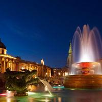 Trafalgar Square Fountains