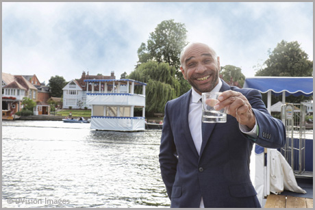 Goldie at Henley Festival