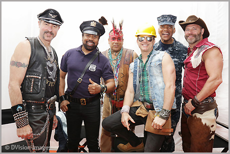Village People line up in 2017 @Rewind Festival