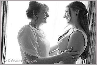 Mum's getting married - mother and daughter