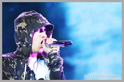 Eminem at Reading Festival 2013