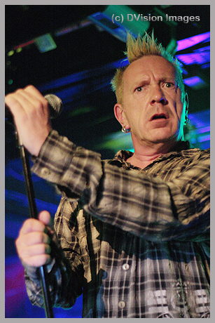 John Lydon with PIL