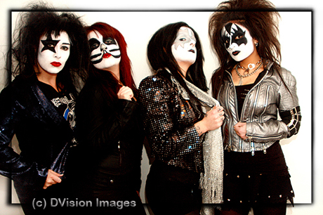 If Kiss were girls - Self promo