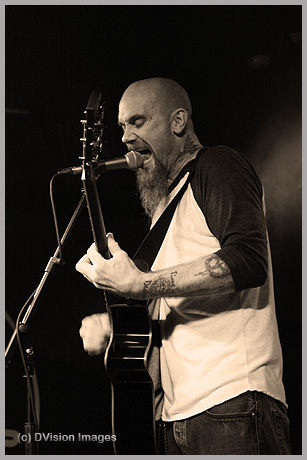 Nick Oliveri as the Bowery District 2014