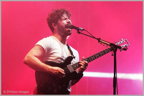 The Foals at Reading Festival