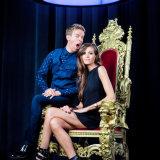 Visual 'Lang Leve'. Jonas Van Geel en Astrid Bryan.