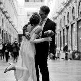 Huwelijk in Brussel.