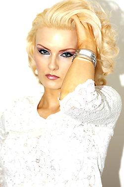 Paulina Look book Designer Watch shot
