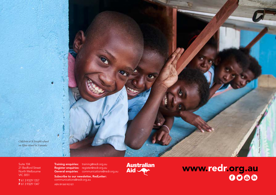 RedR Annual Report 2015 -32