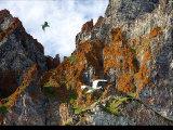 On Akpait Cliffs