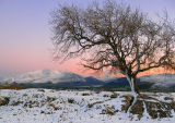Winter Sunset on Clints Crags