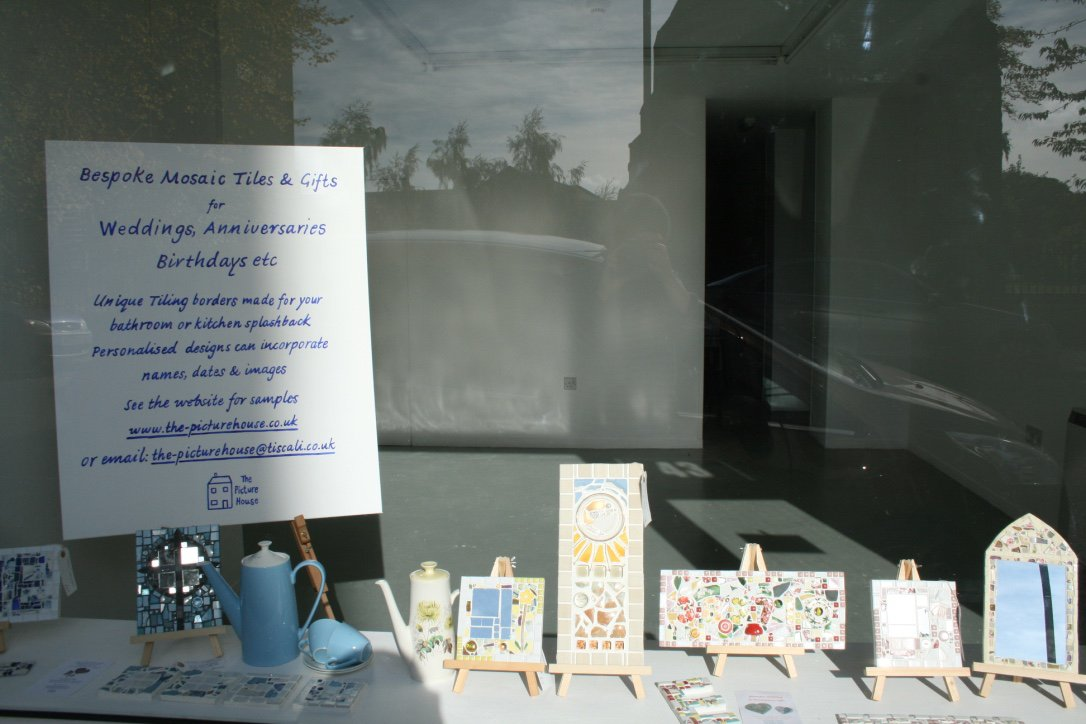 WINDOW DISPLAY AT GREYFRIARS ARTSPACE