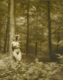 Sarah in the woods