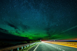 Aurora @ Dornoch Bridge