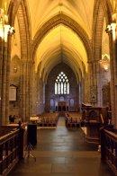 Inside Dornoch Cathedral