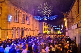 Tain New Year Street Party 2015/16