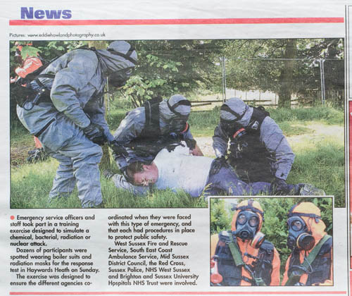 CBRN exercise Leader Paper