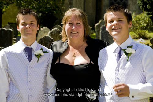 BRIDES MOTHER AND BROTHERS