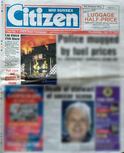 CITIZEN PAPER JULY 08