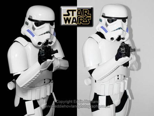 Star Wars Fan in Costume