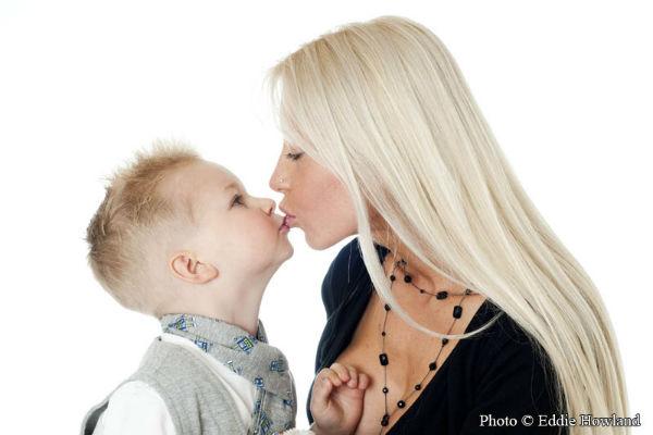 Mother Son Portrait Shoot