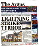 Front page of Argus June 2011