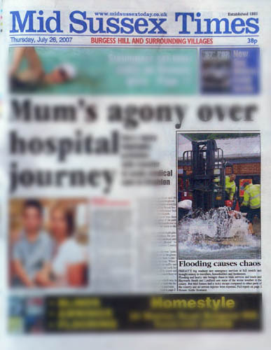 MID SUSSEX TIMES JULY 07